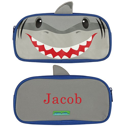 GiftsForYouNow Shark Personalized Pencil Pouch -