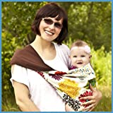 Lucky Baby Sling (Medium, Zinnia Brown)