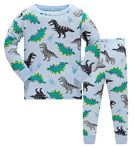 GSVIBK Boys Pajamas Kid Long Sle...