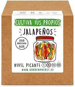 Garden Pocket - Kit Cultivo Jalapeños: Amazon.es: Jardín