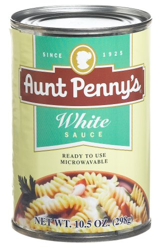 Aunt Penny's White Sauce, 10.5-Ounce Cans (Pack of 6)