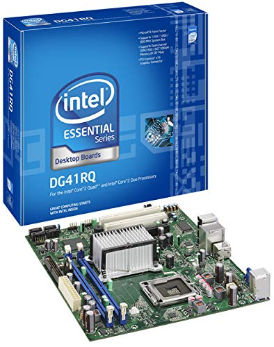 Intel DG41RQ Intel G41 Socket 775 mATX Motherboard w/Video Audio & ()