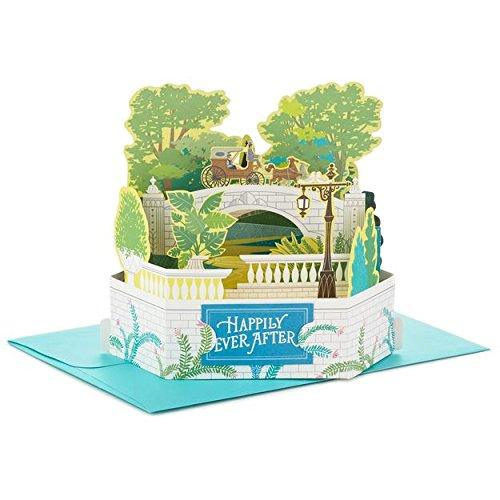 - Hallmark Wonderfolds Romantic Carriage Ride Pop Up Wedding Card