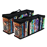 vhs and dvd storage - Evelots 6745 Vhs Storage Bags, 2 Piece