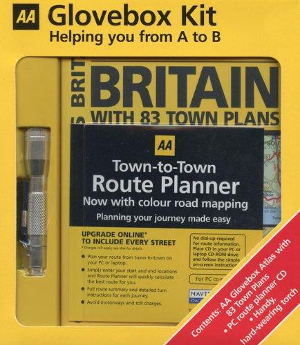 Download AA Glovebox Atlas Kit: AA Glovebox Atlas Britain, Route Planner CD & Keychain Torch ebook