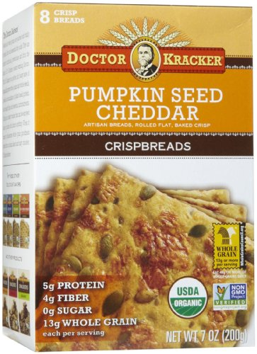 Crispbreads Pumpkin Seed Cheddar Ct product image