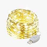Falove Solar Rose Ball String Lights Outdoor 16.4ft 108 LED Colorful Light/Waterproof Durable Long String of 4 Glowing Decorative Lights for Garden Christmas Home Party Wedding String Decor Light