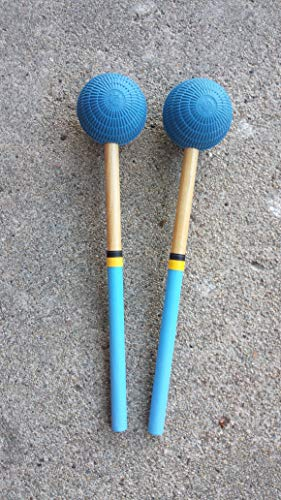 - Steel Drum Pan Mallets - 6Bass