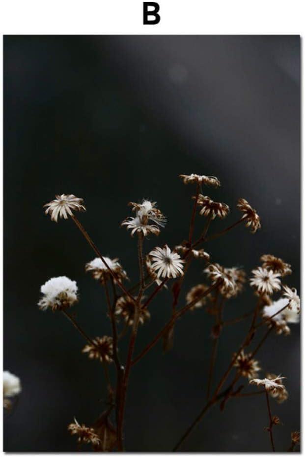 TYLPK Girl Dandelion Landscape Wall Art Print Lienzo Pintura B3 40X50 cm Sin Marco: Amazon.es: Hogar