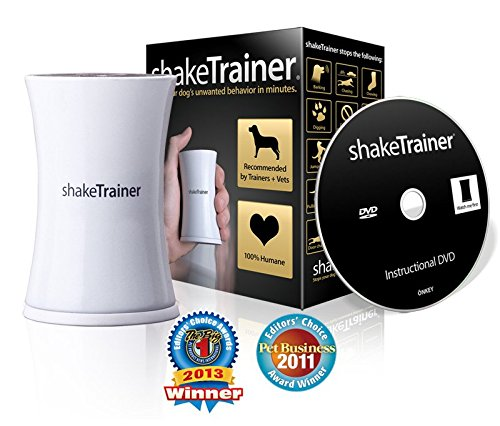 shakeTrainer - The Complete Humane Dog Training Kit With 5 Minute Instructional DVD - Stops Your Dog's Bad Behaviors in Minutes Without Shocking or Spraying - Easy To Use For The Entire Family by ShakeTrainer