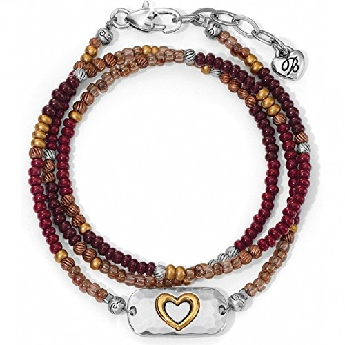 Brighton Seeds 4 The Soul Heart Wrap Bead Bracelet from Brighton