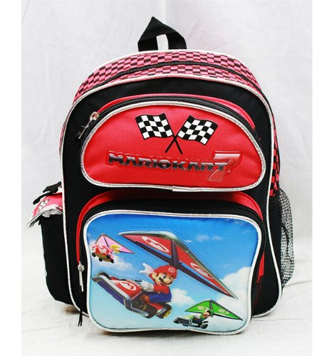 Price comparison product image Nintendo Mario Kart 7 Medium (Toddler) Sized Backpack
