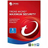 #10: Trend Micro Maximum Security | 2017 (3 PC's- 1 Year) No CD- Only key via email