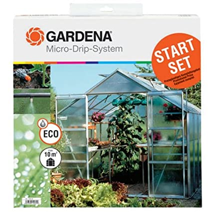Amazon.com: Gardena 1403 Micro-Drip Starter Set para ...