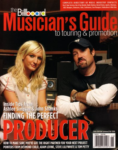 The Musician's Guide to Touring & Promotion: Complete Directory of Music Industry Contacts, Disc & Tape Services, Bus & Van Rentals, Radio Stations, Record Stores, Agents, Attorneys, A&R, Managers, Showcases, Clubs, Conferences, Tour Managers, & Etc. (2006)