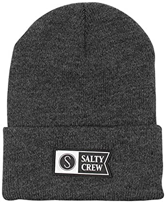Salty Crew Step Up Beanie - Charcoal at Amazon Men's