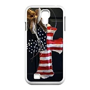 Cool PaintingFashion Cell phone case Of Jesus Christ Cross Bumper Plastic Hard Case For Samsung Galaxy S4 i9500