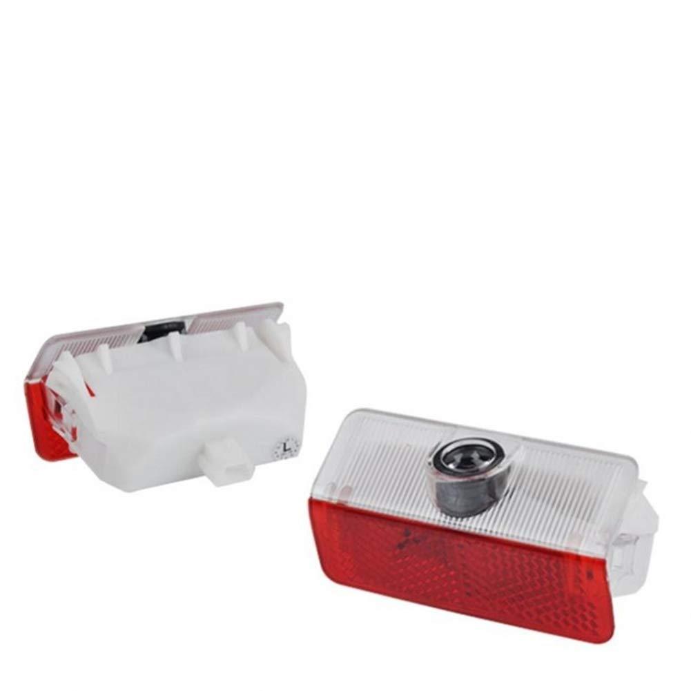 QJZoncuji Car LED proiettore della lampada della porta Ghost Shadow Benvenuto Luce Kit For E-AMG