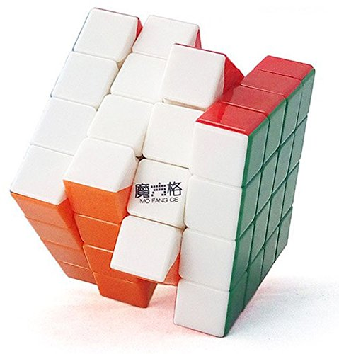 Emob Magic Rubik Cube 4x4x4 High Speed Sticker-less Problem Solving Cubes