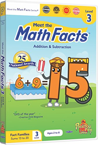 Meet the Math Facts Addition & Subtraction - Level 3 DVD