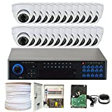 GW Security VD32CH24C726WH 32 Channel 960H Security Camera System (White)
