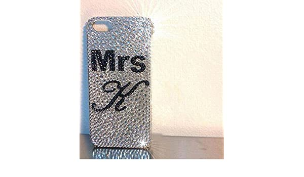 size 40 8ab06 cc982 Clean Rhinestone iPhone 6 Plus Case Personalized initial iPhone 6s Plus  Case 6s Cover Luxury Sparkly Cover