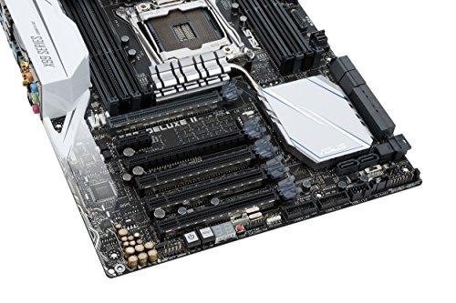 ASUS LGA2011-v3 5-Way Optimization SafeSlot X99 ATX Motherboard X99-DELUXE II by Asus (Image #6)