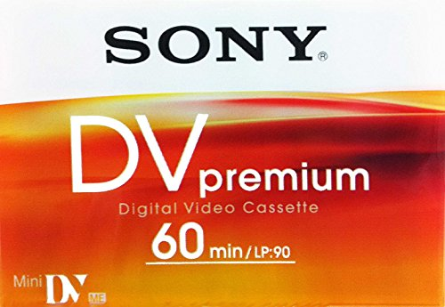 SONY DVM60PRL/1BP PREMIUM MINI DIGITAL VIDEO CASSETTE (SINGLE)