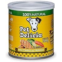 Pet Delícia Risotinho de Frango Natural Fácil Digestão 320g Pet Delícia Raça Adulto, Sabor Frango 320g