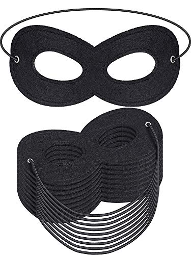 Jovitec 50 Pack Hero Masks Eye Masks Masquerade Masks Felt Masks  for Cosplay Halloween Christamas Party