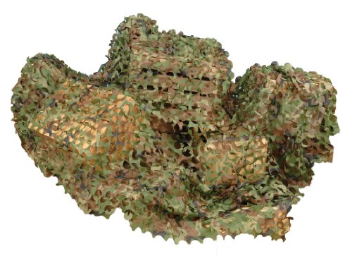 Halloween Bush Costume - Forum Novelties Green Camouflage Netting, 6 x 8'
