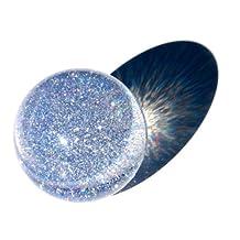 Acrylic Contact Juggling Ball 2 9/16 Inch (65mm) - Glitter UV