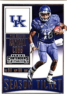 2016 Panini Contenders Draft Picks #83 Randall Cobb Kentucky Wildcats Football Card