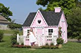 Little Cottage Company Victorian DIY Playhouse Kit, 6′ x 8′