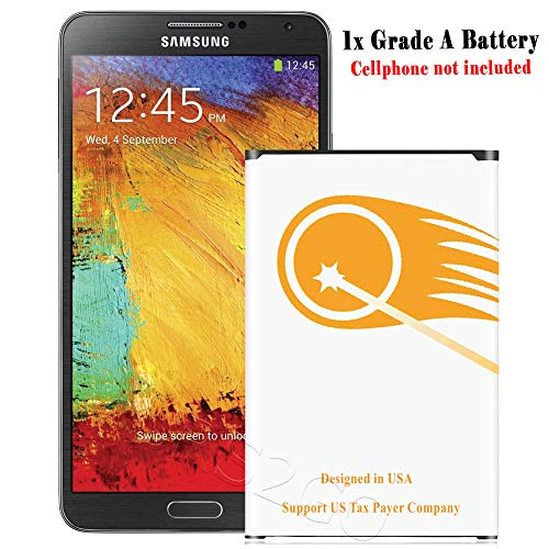 Long Lasting 4600mAh Extended Slim Battery for Samsung Galaxy Note 3 III SM-N900R4 Cellphone