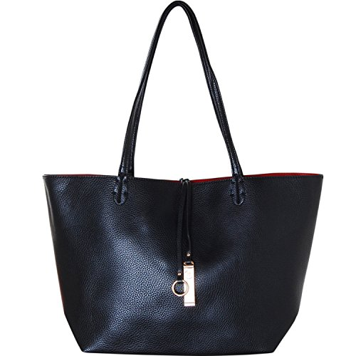 Leather Chic Handbag - 4