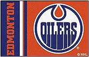 "FANMATS 19263 Edmonton Oilers Uniform Starter Rug, Team Color, 19"""
