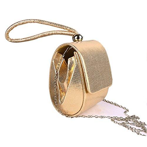 ashdown - Cartera de mano de poliuretano para mujer Talla única dorado