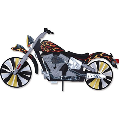 - Premier Kites 32 In. Motorcycle Flame Spinner