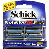 シック プロテクター3D シンプル 2枚刃 替刃 10個入