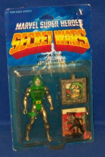 Marvel Super Heroes Secret Wars Doctor Doom Action Figure (Wars Mattel Secret)
