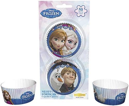 50 st/ück Dekoback 32045 Muffinf/örmchen Frozen