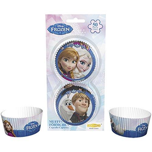DEKOBACK 32045 Muffinförmchen Frozen, 50 stück