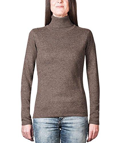 Dolcevita Donna da Mocha Cachemire 100 MERE Maglione Sweater Pullover XXL CH CASH XS qw4XUSa