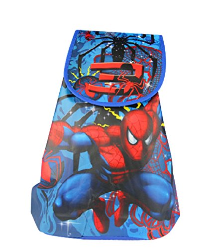 SKS Express Cartoon Drawstring Backpack Bag for Kids (Spiderman Mini backpack)