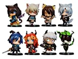 Lamento: Beyond The Void One Coin 10 pieces PVC Figure