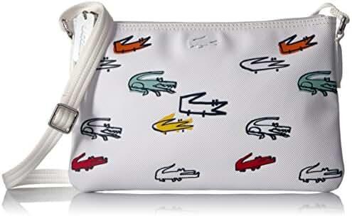 Lacoste L.12.12 Concept Croc Flat Crossover Bag