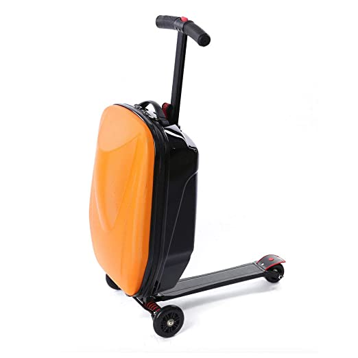 Luggage Scooter, 20'' Scooter Suitcase for Airport, Travel, Business, School
