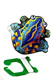 MicroKite Mini Mylar Kite, Frog, 1-Pack