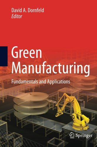 Green Manufacturing: Fundamentals and Applications